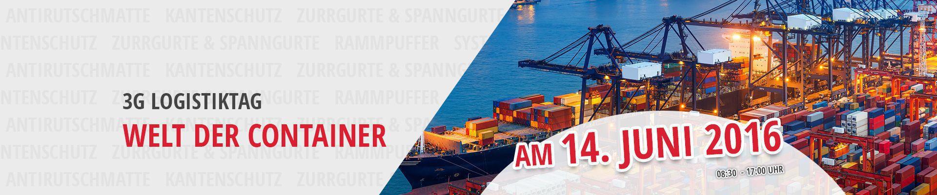 3. 3G Logistiktag: Welt der Container